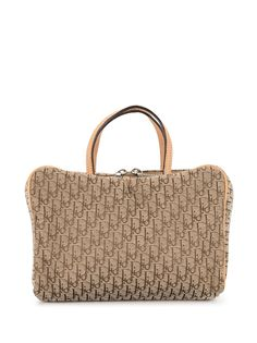 Christian Dior сумка-тоут pre-owned с узором Trotter