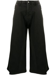 Emporio Armani укороченные джинсы средней посадки