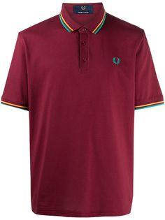 Fred Perry рубашка поло с вышитым логотипом