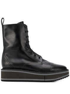 Clergerie ботинки British на платформе