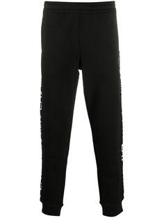 Ea7 Emporio Armani спортивные брюки с логотипом