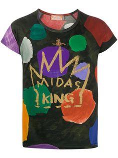 Vivienne Westwood футболка Midas King узкого кроя