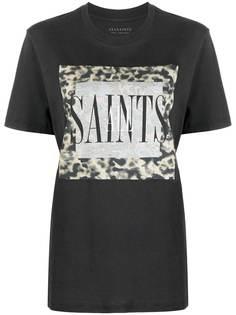 AllSaints футболка Tortell Boyfriend