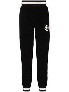 Moncler спортивные брюки из шерпы