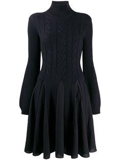 Emporio Armani многослойное платье