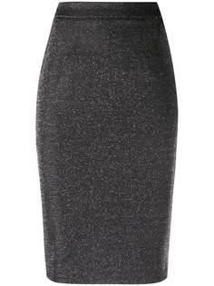 LIU JO юбка-карандаш с блестками