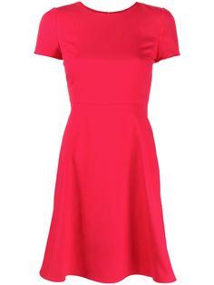 Emporio Armani приталенное платье мини