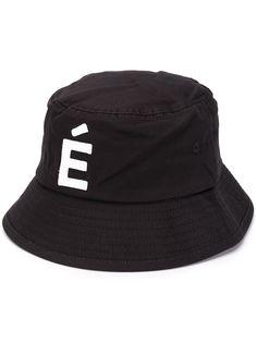 Etudes панама с нашивкой-логотипом