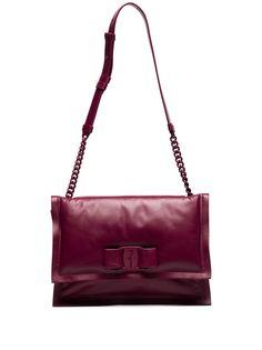 Salvatore Ferragamo сумка на плечо Viva Bow с логотипом