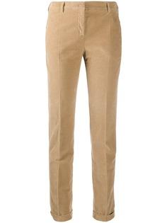 Incotex брюки чинос кроя слим