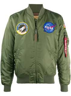 Alpha Industries бомбер MA-1 VF NASA