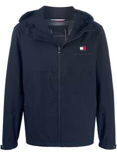 Tommy Hilfiger легкая куртка на молнии с капюшоном