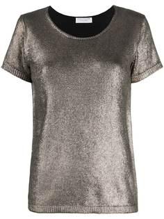 Majestic Filatures футболка с эффектом металлик