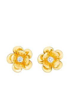 GUITA M золотые серьги-гвоздики с бриллиантами
