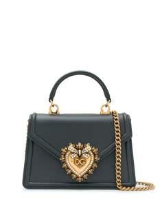 Dolce & Gabbana маленькая сумка Devotion с верхней ручкой