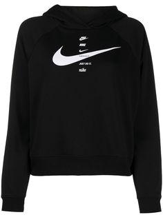 Nike укороченная толстовка с логотипом