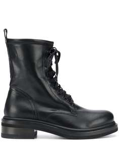Buttero байкерские ботинки на шнуровке