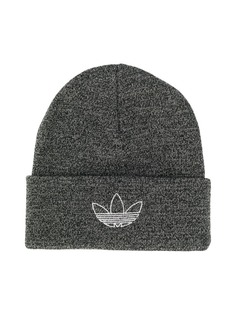 adidas шапка бини с вышитым логотипом