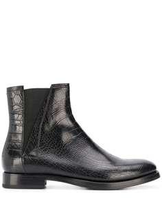 Silvano Sassetti ботинки челси с тиснением
