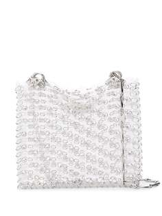 Paco Rabanne сумка-тоут с цепочкой и кристаллами