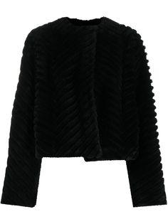 Givenchy стеганая шуба из искусственного меха