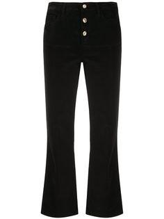 LIU JO укороченные расклешенные брюки