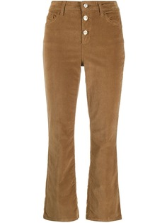 LIU JO укороченные вельветовые брюки
