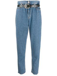 LIU JO брюки с присборенной талией