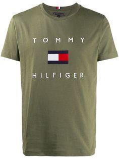 Tommy Hilfiger футболка с логотипом