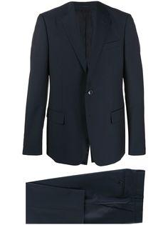 Gucci костюм-двойка с однобортным пиджаком