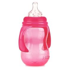 Бутылочка Nuby с силиконовой соской, полипропилен, с 0 мес, 300 мл