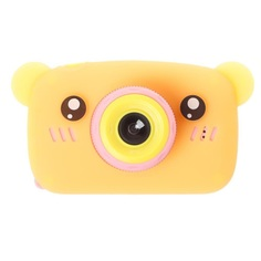 Цифровой фотоаппарат Lemon Tree в форме медведя (Оранжевый)