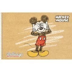 Альбом для рисования Hatber Микки Маус Disney