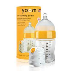 Бутылочка YOOMI, полипропилен, с рождения, 240 мл