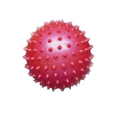 Мяч массажный 1Toy цвет: красный 12