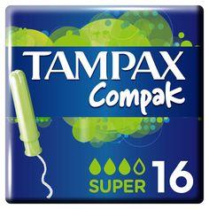 Тампоны Tampax Compak Super с аппликатором, 16 шт