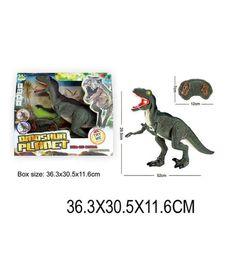 Игрушка на радиоуправлении Наша Игрушка Динозавр свет, звук