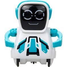 Интерактивный робот Silverlit Покибот 7.5 см цвет: голубой