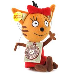 Мягкая интерактивная игрушка Мульти-Пульти Три кота Карамелька 13 см