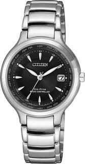 Японские женские часы в коллекции Radio-Controlled Женские часы Citizen EC1170-85E