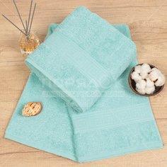 Полотенце банное, 70х140 см, Cleanelly, 460 г/кв.м, нежно-бирюзовое ПТХ-701-03732