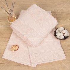 Полотенце банное, 70х140 см, Cleanelly, 460 г/кв.м, розовое ПТХ-701-03732