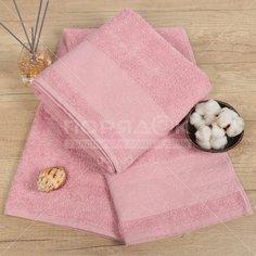 Полотенце банное, 70х140 см, Cleanelly, 420 г/кв.м, пыльно-розовое ПТХ-701-03733