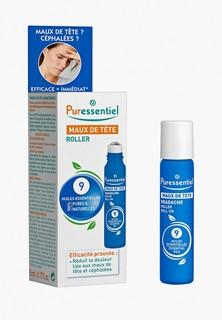 Масло массажное Puressentiel Успокаивающий, для снятия напряжения и облегч. стресса, 9 эф.масел, 5 мл