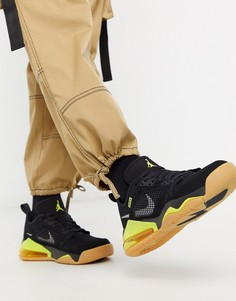 Черные/желтые низкие кроссовки Nike Jordan Mars 270-Черный