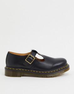 Черные туфли Dr Martens-Черный