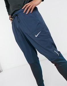 Темно-синие джоггеры Nike Running Phenom elite-Темно-синий