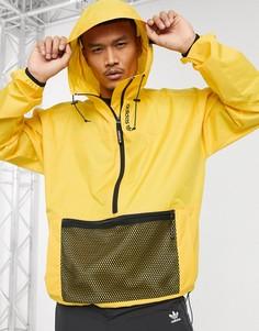 Золотистая ветровка adidas Originals-Золотой