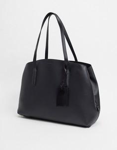 Черная структурированная сумка-тоут ALDO-Черный