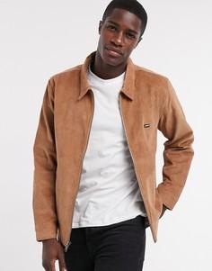 Вельветовая куртка Харрингтон Levis-Светло-коричневый